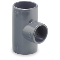 TE PVC Reducida 90 Hembra