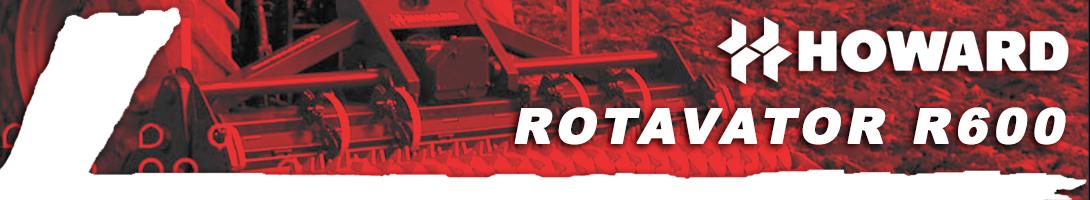 Rotavator R600 HOWARD